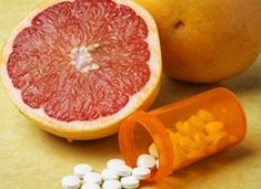 Health care professionals promote heart-healthy diets rich in fresh fruits and fiber, but eating grapefruit can cause problems for patients on statin medications. How much can you consume before trouble occurs?