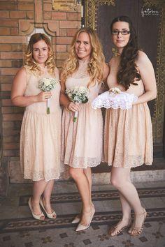 Koszorúslány ruhák Budapesti esküvőn