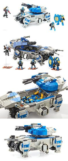 Blocks and Sorters 100225: Mega Boys Destiny Mega Construx Destiny Goliath Tank Strike -> BUY IT NOW ONLY: $74.99 on eBay!