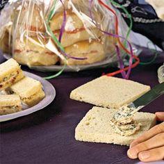 5 Bocaditos Dainty   Bacon-Olive Party Sandwiches   MyRecipes.com