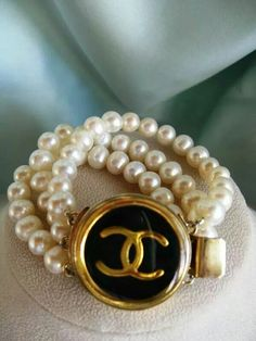 #Chanel #bracelet #pearls