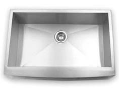 """Blue Ocean 33"""" KSA20C Stainless Steel Single Bowl Apron Kitchen Sink with FREE Grid and Strainer Blue Ocean http://www.amazon.ca/dp/B0087LT7NK/ref=cm_sw_r_pi_dp_o3givb0KG9DGJ"""