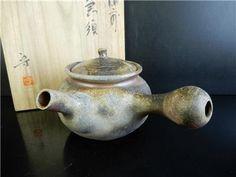 Japanese Bizen-ware Shapely TEAPOT Shibaoka Mamoru made w/signed box Age: Teapot, Jar, Japanese, Home Decor, Tea Pot, Decoration Home, Japanese Language, Room Decor, Home Interior Design