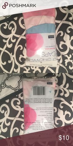 SHOWER CAPS. UNOPENED !! Accessories Hair Accessories
