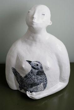 SCULPTURE - author's unique pottery studio