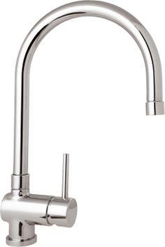 Deva - Stick Mono Kitchen Sink Mixer with Pull Out Rinser - at Victorian Plumbing UK Kitchen Mixer Taps, Argos, Plumbing, Chrome, Victorian, House Design, Design Ideas, Vanity Basin, Architecture Design
