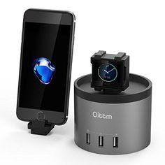 Oittm Nightstand Mode Charging Stand for Apple iWatch: Amazon.co.uk: Electronics