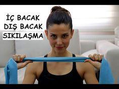 İç bacak Dış bacak Egzersizleri ile Evde Spor hareketleri - YouTube