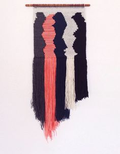 Hand Woven Wall Hanging / Tapestry / Weaving // The by WovenLaine