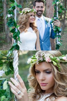 Gorgeous flower crowns to bring an ethereal feel to this Gold Coast garden wedding Coastal Wedding Flowers, Flower Crown Hairstyle, Hair Flowers, Flower Crowns, Destination Weddings, Gold Coast, Garden Wedding, Ethereal, Bouquet