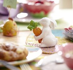 Pier 1 Bunny & Carrot Salt & Pepper Shakers are simply adorable