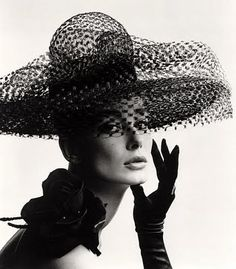 Tania Mallet in a Madame Paulette hat. Photo by John French 1963