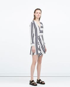 DRESS WITH SEAMED SKIRT from Zara Rp 499.900,-