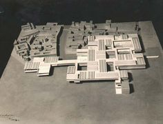 Unbuilt Hospital in Venice | Le Corbusier