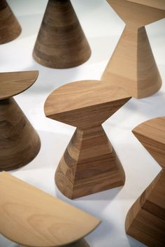 BAN stools - Repinned by ZC Woodwork