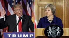 Theresa May and Donald Trump 'affirm special relationship'
