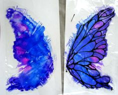 iridescent cellophane wings - Google Search