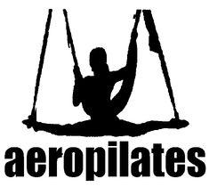 LOGO OFICIAL Pilates Aereo Madrid, Formacion de profesores, Aerial Pilates El método Pilates Aéreo se practica en el columpio de Pilates Aire© (Pilates Aéreo)