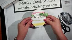 cardmaking video tutorial: Easter Egg Card ... adorable chick pops up when card top lifted ... Stampin' Up!