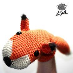 Ravelry: Fox Puppet pattern by A la Sascha