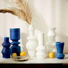 LAMP BASE? Totem Vases   west elm