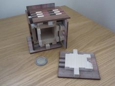 Nice interior detail of a classic puzzle box  by Puzzleparadox, via Flickr