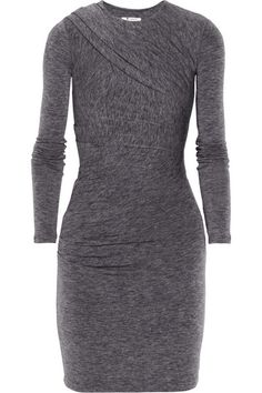 This looks ideal for fall. (T by Alexander Wang  Draped Jersey Dress)