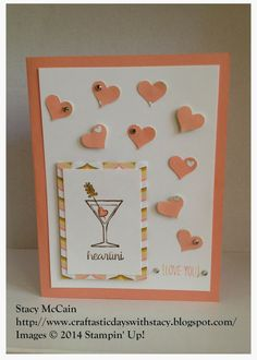 Craftastic Days with Stacy: Making Spirits Bright - Loving You; Stampin' Up!; Holiday Catalog 2014