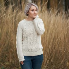 Cable Knit, Everyday Fashion, White Dress, Turtle Neck, Autumn, Pullover, Knitting, Sweaters, Dresses