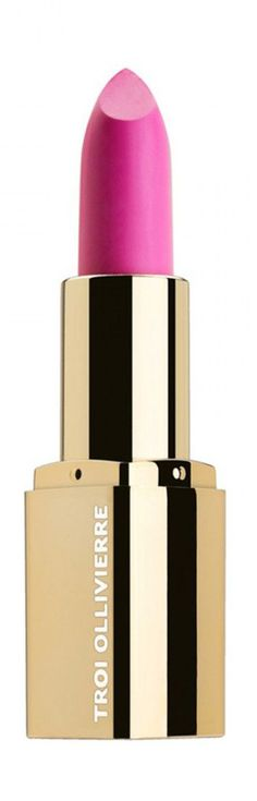 Make a bold statement with this beautiful, pink lipstick by Troi Ollivierre.