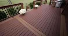 Second floor outside the deck deck finishes