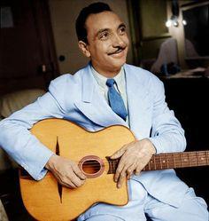 Jean Reinhardt, plus connu sous le nom de Django Reinhardt, est un guitariste de jazz français, né le 23 janvier 1910 à Liberchies en Belgique et mort le 16 mai 1953 à Samois-sur-Seine