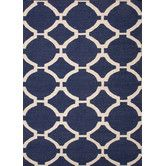 Found it at Wayfair - Maroc Deep Navy Geometric Rug