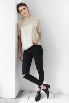 Collection Mars/Avril Les Comptoirs d'Orta / Blouse Jacotte #lescomptoirsdorta www.lescomptoirsdorta.com