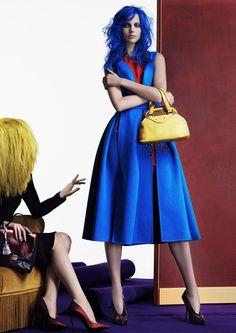 visual optimism; fashion editorials, shows, campaigns & more!: close-up: elisabeth erm by david dunan for vogue italia october 2014
