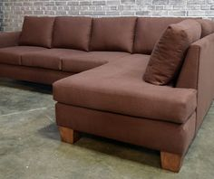 non-toxic handmade modSquare Sectional -- By EcoBalanza