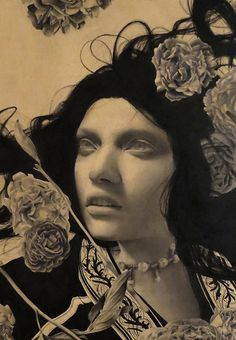 Juxtapoz Magazine - The Illuminated Illustrations of Alessandra Maria