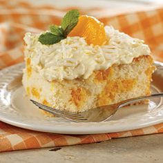 Our Best Cake Mix Recipes | Mandarin Orange Cake | MyRecipes.com