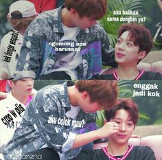 Baca aja dulu:)  Apdet tergantung mood ya ehee  Warn : yaoi, boys lov… #random # Random # amreading # books # wattpad Lai Guanlin, Produce 101, First Love, Idol, Ship, Guys, Memes, First Crush, Meme
