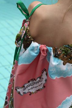 DIY Scarf Dress | Vintage Souvenir Scarf Becomes Girl's Dress – DIY Tutorial