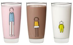 Family Glassware: The New Family Stickers for Glass