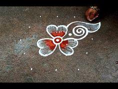Rangoli Designs Flower, Small Rangoli Design, Rangoli Border Designs, Rangoli Designs Images, Beautiful Rangoli Designs, Rangoli Borders, Rangoli With Dots, Simple Rangoli, The Creator