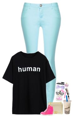 """""""hooman"""" by emmzizleez888 ❤ liked on Polyvore featuring Beauty Rush, OPI, Bobbi Brown Cosmetics, Lancôme, Vera Wang and vintage"""