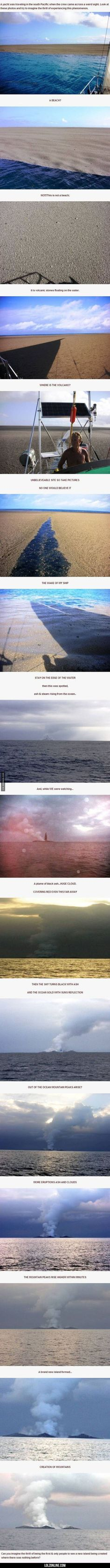 Creation Of New Land, Such An Incredible Event#funny #lol #lolzonline