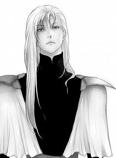 ai no kusabi, iason mink, and blue eyes Bild