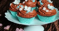 Aloitetaanpa blogi herkullisilla suklaakuppikakkusilla. Mielestäni kuppikakut ovat usein vähän mauttomia, mutta nämä olivat suussa sulava... Mini Cupcakes, Desserts, Food, Tailgate Desserts, Deserts, Essen, Postres, Meals, Dessert