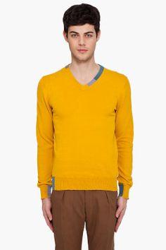 PAUL SMITH JEANS //  Maize V-Neck Sweater