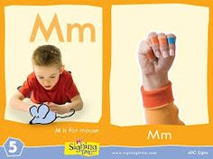 Learn the sign for the letter M in American Sign Language. Sign Language Colors, Sign Language For Kids, British Sign Language, Learn Sign Language, Learning The Alphabet, Kids Learning, Learn Asl Online, Speech Delay, Asl Signs