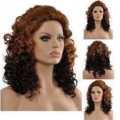 Diy-Wig Brown Ombre to Dark Brown Full Curly Mid Lengh Na... https://www.amazon.com/dp/B01BD018XS/ref=cm_sw_r_pi_dp_x_6GE4xb9FF0A4R