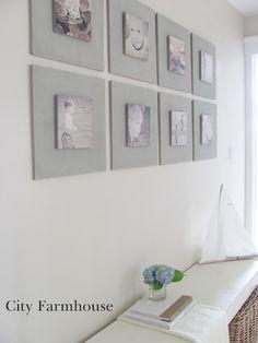 DIY Gallery Wall Tutorial- make and hang!
